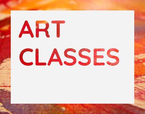 Art Classes Graphic